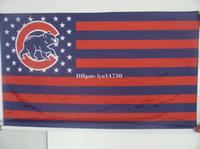 Wholesale cubs flag Baseball X90CM ftx5ft Banner D high quality polyester flag