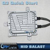 al por mayor 55w rápido inicio rápido-0.1 Second Fast Bright 55W OCULTADO Xenón Slim Ballasts Inicio rápido Universal 12V Hid Xenón Lastre IP67 Hid Eletro electrónico Lastre