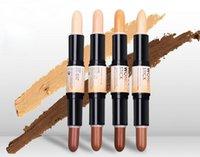 al por mayor mejores marcas de recortadora-MEJOR VENTA NYX Wonder Stick Trimming Alta Luz Ilumina Cover Concealer Ojo Lápiz Sombra Polvo Silkworm Pen Marca Maquillaje Belleza Cuidado de la cara