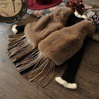 Wholesale 2017 Winter New Fashion Waistcoats Kids Fleece Vest Girls Fake Fur Tassel Vest Coat Children Clothing