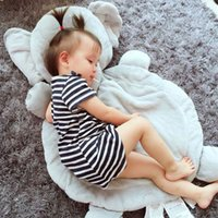 Wholesale 2016 High Quality Baby Crawling Blanket Newborns kids Sleeping Pad Cute Cartoon Carpet elephant Play Mat Gift For Children