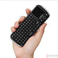 Vente en gros-Mini sans fil à main de contrôle à distance clavier avec multi Touch Touchpad prolongateur de travail USB ANDROID TV BOX / arabe, la Russie