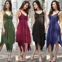 Wholesale Amazon EABY best selling irregular dovetail skirt multicolor Europe and the United States big yards on the new dress In the spring of