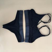 Wholesale Women Sports Brand Briefs Sexy Ladies Ribbon Push Up Brassiere Bra Set New Style Brand Underwear
