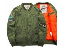ag coat - MAGCOMSEN Autumn Air Force One Pilot Jacket Men Chaquetas Hombre Mens Jackets And Coats MA01 Bomber Jacket Men AG LXZ