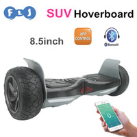 app good - Newest inch Electric Hoverboard APP Balance Scooter SUV Hoverboard good Wheels with bluetooth speaker self balancing scooter