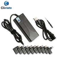 Wholesale High quality SP20 W Laptop Charger Power Supply V Switching Adapter with Tips for Universal Brand Notebook free DHL