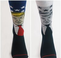 Wholesale 2016The new Trump socks Two kinds of color In the pure cotton silk stockings