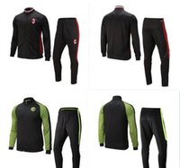 Wholesale AC Inter Milans Suit Soccer Jacket Tracksuit Football Inter New Men sAdultss chandal giacca tuta survetement Ma