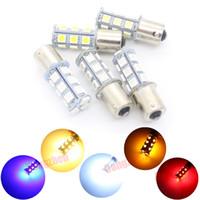 Wholesale 1pcs bay15d ba15s P21w w w T20 T25 Trailer xenon White SMD LED Reverse light Bulb Side Turn Signals v