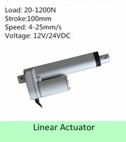 Wholesale 12V VDC inch mm stroke N mm s IP linear actuator