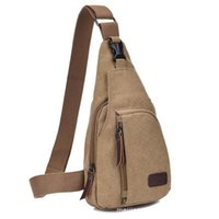 Wholesale Lower Price Leisure Men bags Movement Canvas Bag for Outdoor