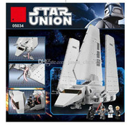 Wholesale NEW BLOCKS Star Wars Imperial Shuttle Model Building Kit Blocks Bricks Compatible Children Toy Gift With retail box