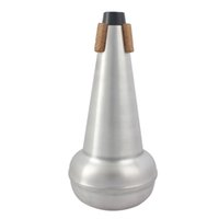 Wholesale High Quality Tenor Trombone Mute Aluminium Alloy Tenor Trombone Straight Mute Brass Instrument Parts Accessories