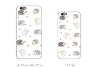 apple hedgehog - Lx Cell Phone Cases Silicone Iphone shell Cartoon Hedgehog Cell Phone Accessories Back Cover Type Phone shell