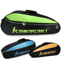 badminton training racket - Cool Kawasaki badminton bag Colorful bat tote Sport exercise Racquet gym training duffel Universal Shuttlecock racket case