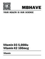 Wholesale Multi Vitamins Tablets High Strength General Health Vitamin D3 K2 Multivitamins