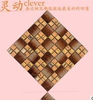 Wholesale Glass mosaic tile setting wall of the sitting room TV background wall entrance waist tiles