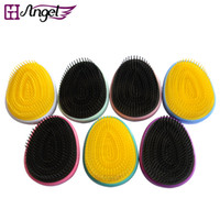 Round Brush All Hair Types ABS GH Angel Magic Detangle Hair Brush Comb Professional Massage Hair Comb Anti-static Hairdressing Styling Tool Hairbrush