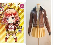 america states game - Axis Powers Hetalia Cosplay Costume Anime APH America United States Female Costumes