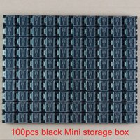 Wholesale New blck High Quality SMD SMT Electronic Component Mini Storage Box Practical Jewelry Storaged Case