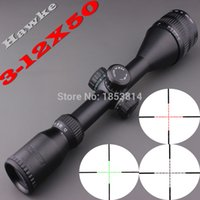 Wholesale Hawke Sport x50 AOE Riflescope R amp G illuminated Riflescope Reticle Shotgun Rifle sniper Scope for hunting