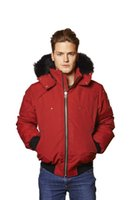 big red coat - Men Authentic MK Down jacket comfortable Freestyle insulation Popular models fashion big pocket Outwear Coat design red