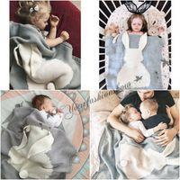 acrylic mat - 4 colors Baby Blanket Cute cartoon Rabbit Crochet Knitted For Bed Sofa Cobertores Mantas BedSpread Bath Towels Play Mat M608