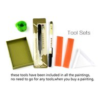 Wholesale diy diamond painting cross stitch Tool Tool Sets Pick up Tools Tweezers pn