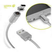 Wholesale Newest Original Wsken X Cable Mini2 Series Metal Magnetic Cable Data Charger Cable For Micro USB Android Phone Samsung Huawei