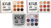 Wholesale Kylie Holiday Edition Bronze burgundy kyshadow Palette new arrival Kylie Jenner Cosmetics Eyeshadow High Quality