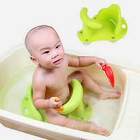 bathing chair - Hot Selling Baby Bath Seat Ring Tub Shower Bathtub Non Slip Infant Bathing Security Chair Mat Pad Tub Safety Bathing VT0438