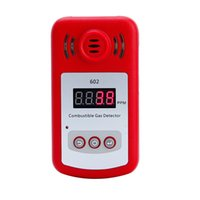 Wholesale New Come Portable Mini Combustible Gas Detector Analyzer Gas Leak Tester With Sound And Light Alarm Gas Leak Detector Gsm Alarm