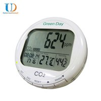 Wholesale AZ Air Carbon Dioxide Concentration Detector CO2 Gas Detector Temperature and Humidity Monitor