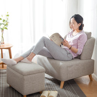 Wholesale Single sofa leisure sofa leisure sofa Nordic study bedroom fashion simple small size furniture computer chair