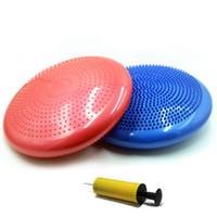Wholesale Popular Multi use Burstproof Sports Exercise Yoga Massage Fitness Ball Pilates Balance Mat Gym Trainning Pad