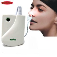 Wholesale BioNase Nose Rhinitis Sinusitis Cure Therapy Massage Hay fever Low Frequency Pulse Laser HealthCare Machine instrument Massager
