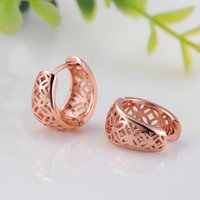 Wholesale Fashion earring for woman Full Crystal Cool Double Round Stud bling crystal Earring Platinum Brand Earring