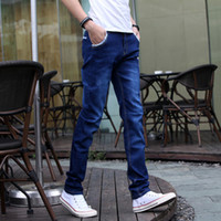Full Length best jeans brand - summer brand jeans leisure casual jeans best quality famous style men s jeans denim pants