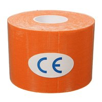 Wholesale 5cm x m Kinesiology Kinesio tape Roll Cotton Elastic Adhesive Sports Muscle Tape Bandage Physio Strain Injury Support
