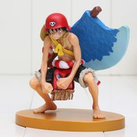 axe one piece - One Piece Anime Monkey D Luffy Axe Ver PVC Action Figure Collection Model Doll Toy Gift approx cm