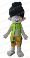 Wholesale AM0421 Trolls Character Branch mascot costume Troll Mascot Suit