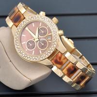 battery valentine gift - DHL Free Luxury Designer Women rhinestone Diamonds watches fashion gold quartz wristwatch Dress ladies Famous Brand watch Valentine Day Gift