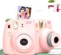 Wholesale Fuji Mini Camera Fujifilm Fuji Instax Instant Film Photo Camera New Colors White Pink Yellow Blue Black Christmas gift