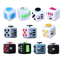 big reduction - 11 colors Novelty Stress Reduction Fidget Cube Ball World s first American Decompression Toys Relief Focus For Adults and Children