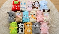 Wholesale Cartoon animal roll of carpet Coral blanket children blanket air conditioning rugs Lovely household carpet