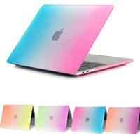 air textures - Rainbow Texture Case for Macbook Air inch Pro Retina case A1706 A1707 A1708