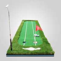 best putting green - Best Selling Golf Putting Green Indoor Backyard Exercise Mat Residential Practice Training Aids Golfing Supplies CM MD0144