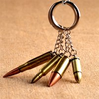 Cheap made in china Pistol Gun Keychain Best Multi color Promotion Bullet Keychain
