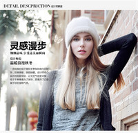 Wholesale New Poetry Dan Kaiser Hat Ms Han Edition Warm Wool Woolen Cloth Cap In The Fall And Winter Of Rabbit Hair Baotou Cap